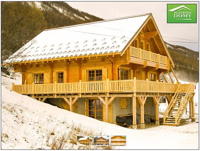 Domy w stylu alpejskim
